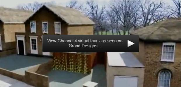 view channel 4 virtual tour - as seen on grand designs, click to play video