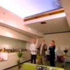 monty, claire and kevin mccloud at peckham house on grand designs